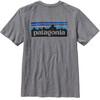 Patagonia M's P-6 Logo Cotton T-Shirt Gravel Heather